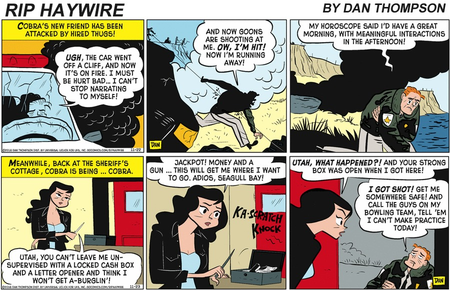 Rip Haywire Comic Strip for January 19, 2020