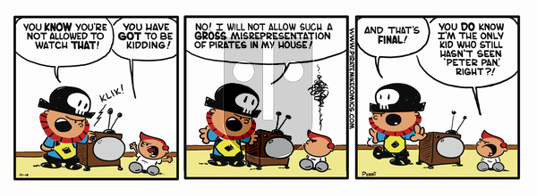 Pirate Mike on Friday February 15, 2019 Comic Strip