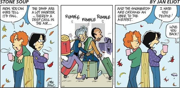 Stone Soup on Sunday October 23, 2016 Comic Strip