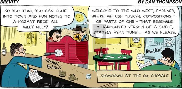 Brevity on Sunday July 28, 2019 Comic Strip