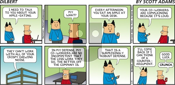 Dilbert on Sunday January 6, 2019 Comic Strip