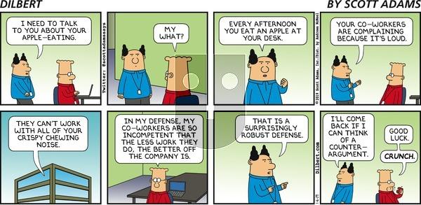 Dilbert on Sunday January 6, 2019 Comic Strip