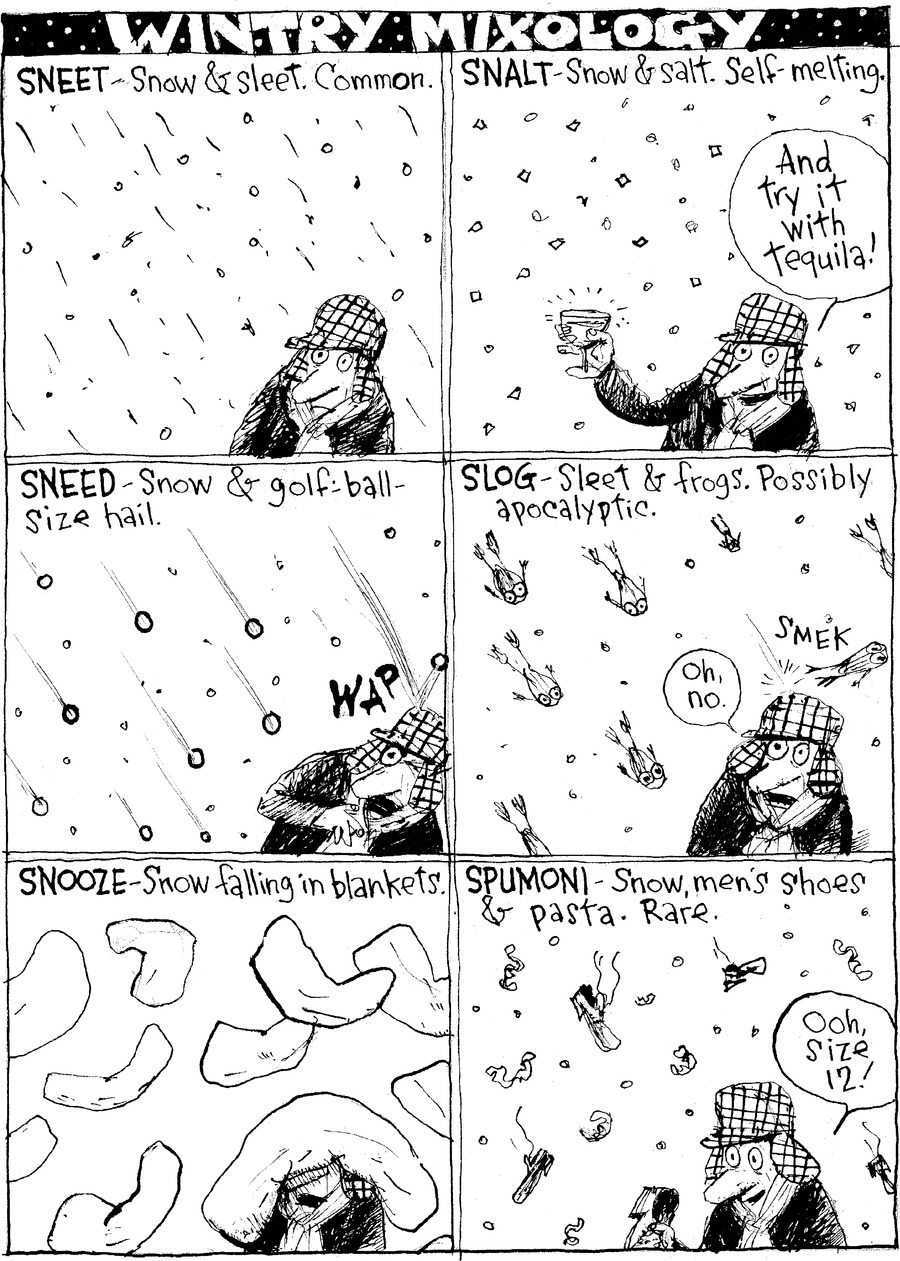 Richard's Poor Almanac Comic Strip for January 09, 2011