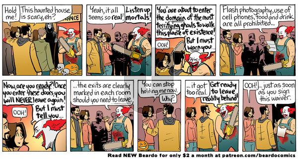 Beardo - Thursday April 8, 2021 Comic Strip