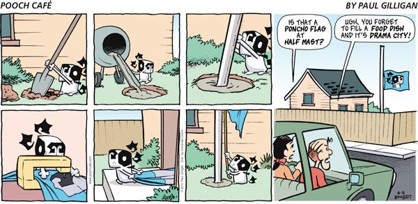 Pooch Cafe for Jun 5, 2011 Comic Strip
