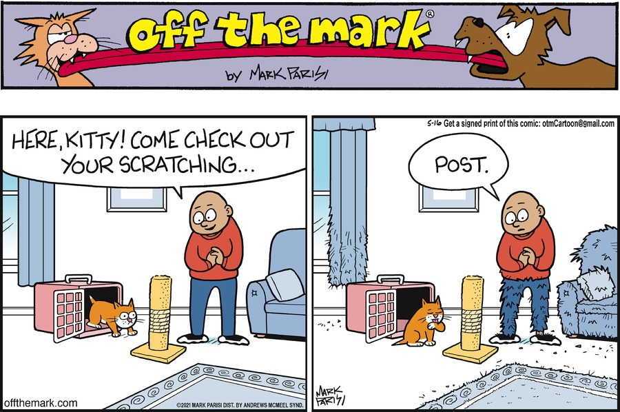 Off the Mark Comic Strip for May 16, 2021
