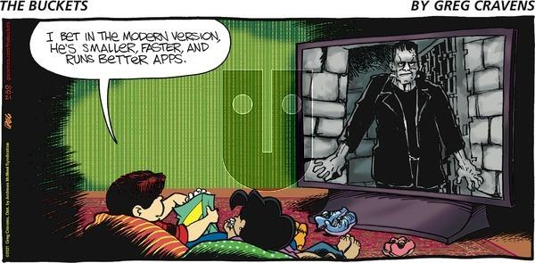 The Buckets on Sunday January 10, 2021 Comic Strip