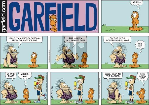 Garfield - Sunday July 29, 2018 Comic Strip