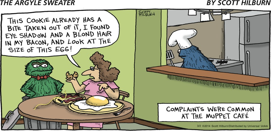 The Argyle Sweater for Mar 2, 2014 Comic Strip