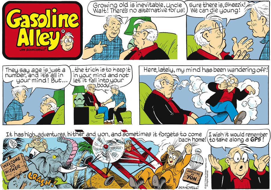 Gasoline Alley Comic Strip for August 20, 2017