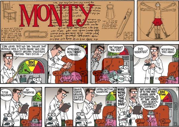 Monty on Sunday March 17, 2013 Comic Strip