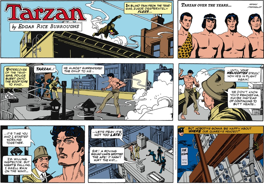 Tarzan Comic Strip for June 13, 2021