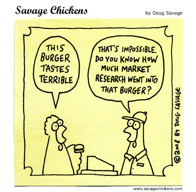 Chicken: This burger tastes terrible