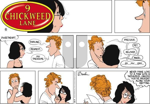 9 Chickweed Lane on Sunday January 15, 2017 Comic Strip
