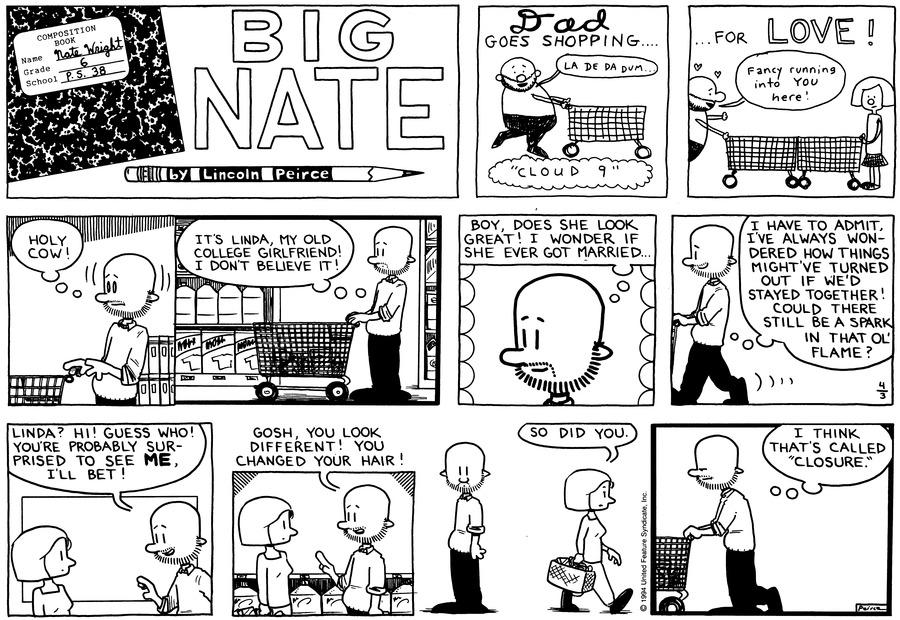 Big Nate Comic Strip for April 03, 1994