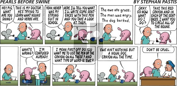 Pearls Before Swine on Sunday April 22, 2018 Comic Strip