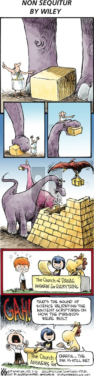 Non Sequitur on Sunday July 16, 2017 Comic Strip