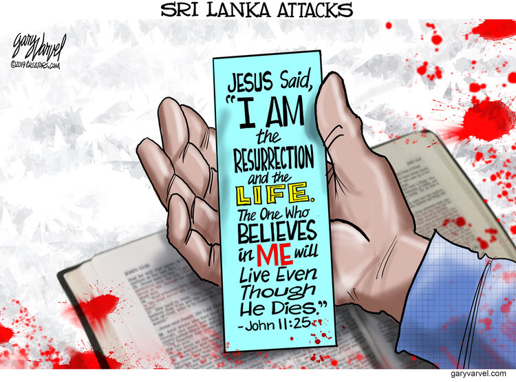 Gary Varvel by Gary Varvel for April 22, 2019