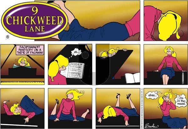 9 Chickweed Lane on Sunday November 4, 2012 Comic Strip