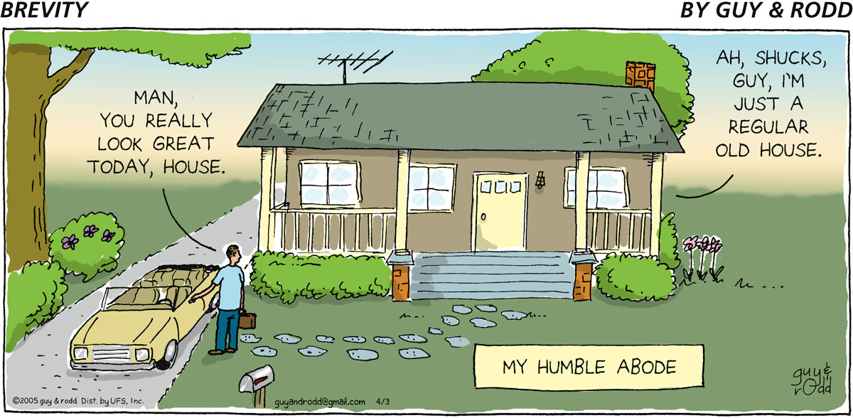Brevity Comic Strip for April 03, 2005