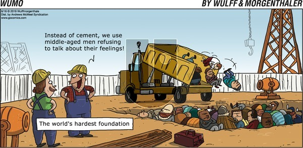WuMo on Sunday June 16, 2019 Comic Strip