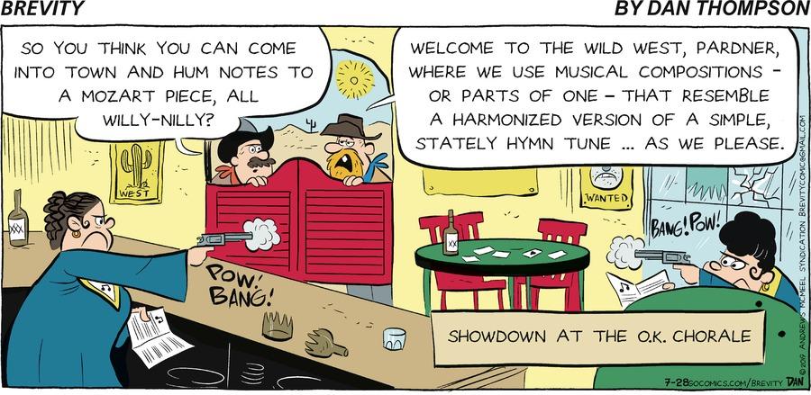 Brevity Comic Strip for July 28, 2019