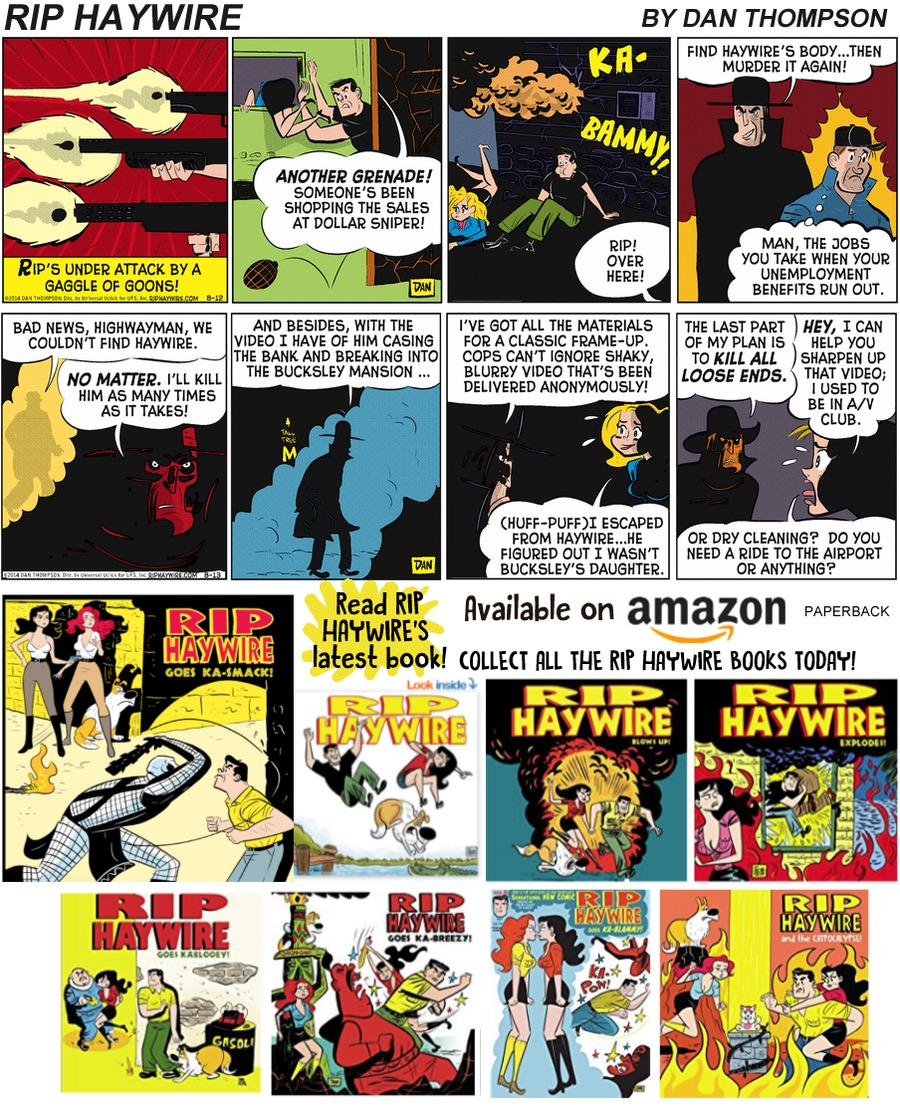 Rip Haywire Comic Strip for August 25, 2019