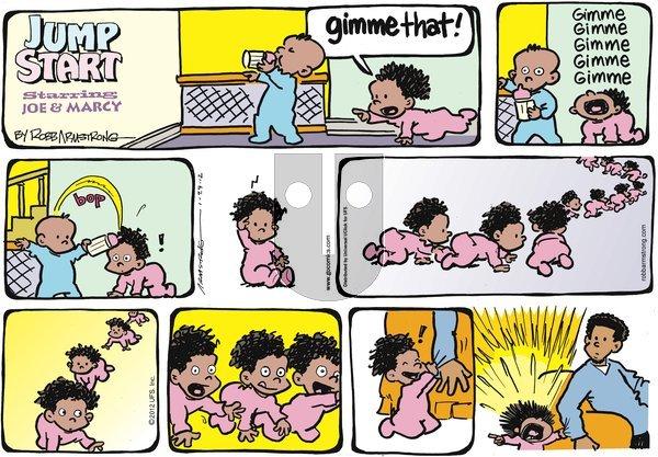 JumpStart on Sunday January 29, 2012 Comic Strip
