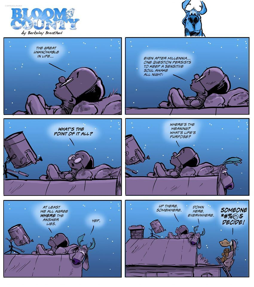 Bloom County 2019 by Berkeley Breathed on Thu, 21 Nov 2019