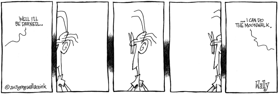Nothing is Not Something for Oct 9, 2013 Comic Strip