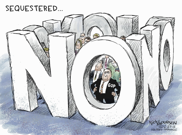 Nick Anderson for Feb 27, 2013 Comic Strip
