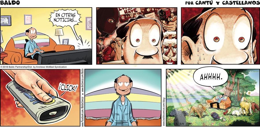 Baldo en Español Comic Strip for March 04, 2018