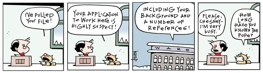 Ten Cats Comic Strip for December 08, 2014