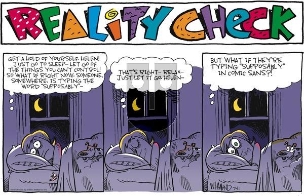 Reality Check on Sunday July 11, 2021 Comic Strip
