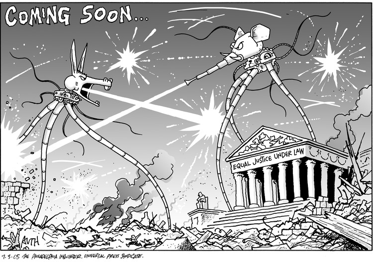Tony Auth Comic Strip for July 03, 2005