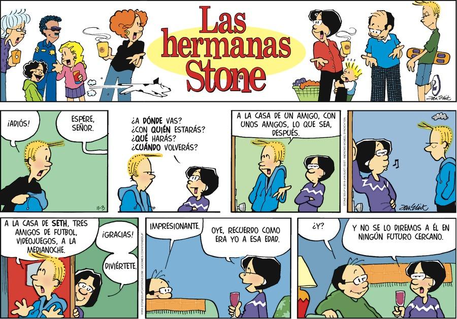 Las Hermanas Stone by Jan Eliot on Sun, 03 Nov 2019