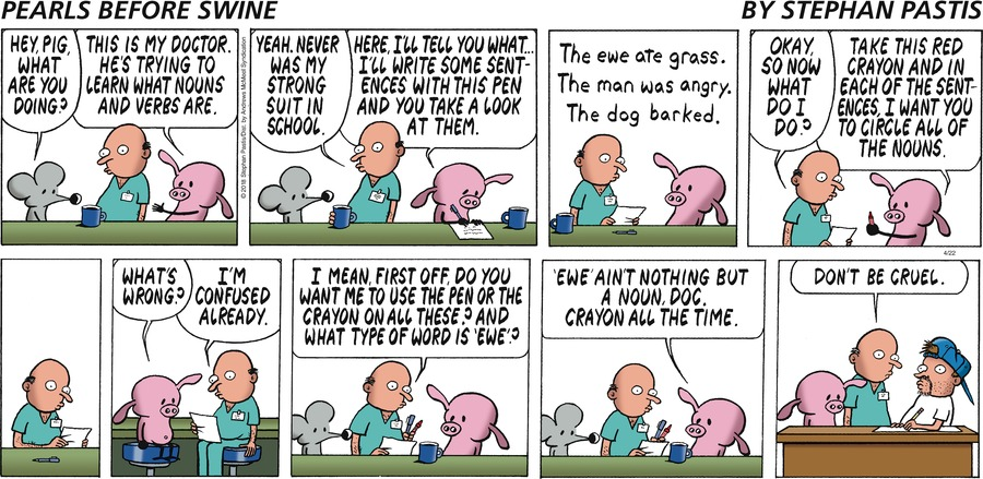 Pearls Before Swine Comic Strip for April 22, 2018