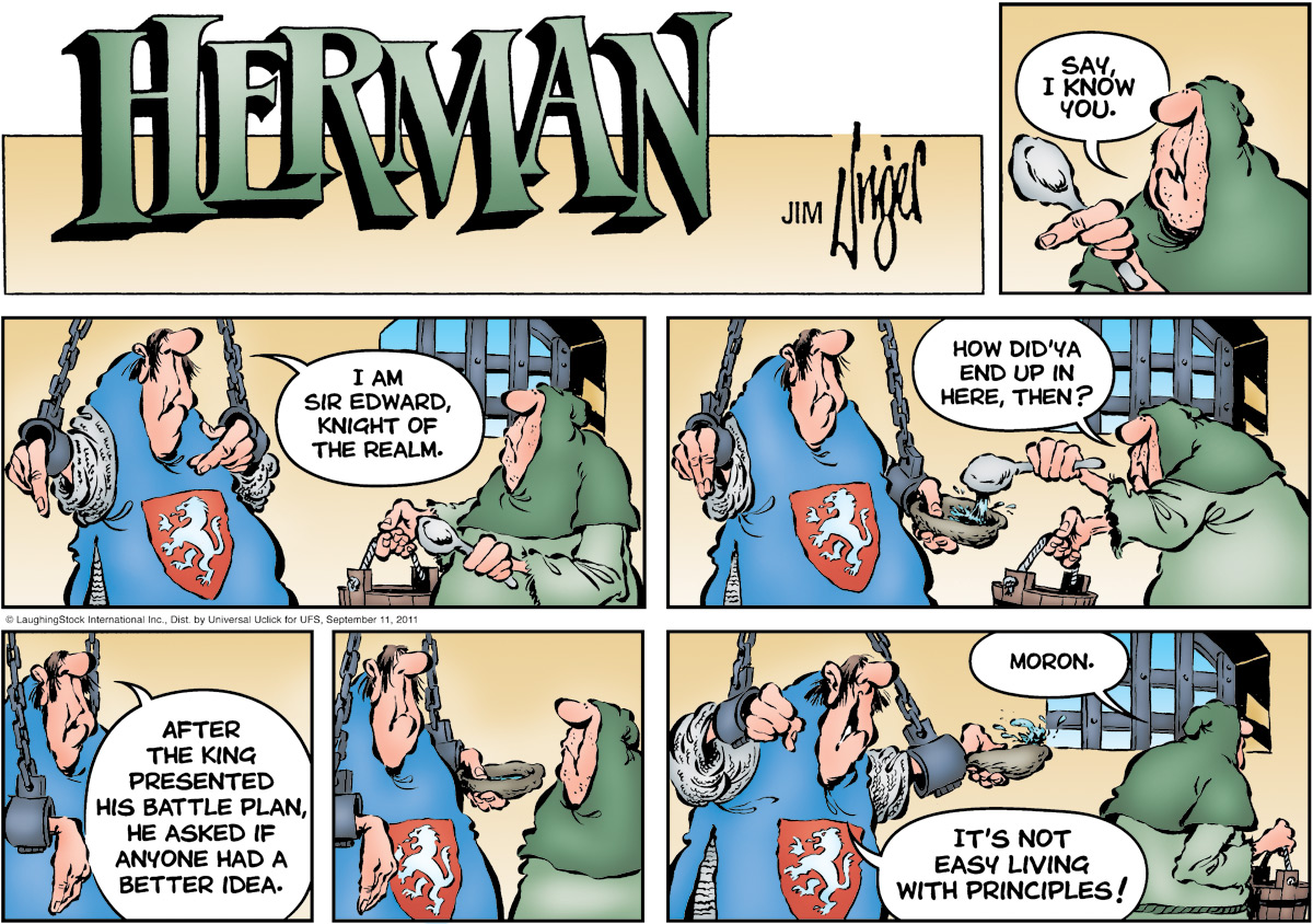 Herman Comic Strip for September 11, 2011
