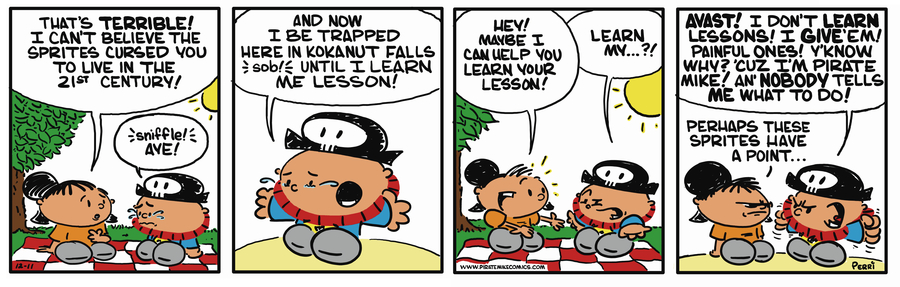 Pirate Mike Comic Strip for November 02, 2018