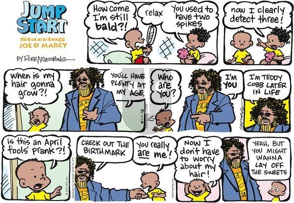 JumpStart on Sunday April 1, 2012 Comic Strip