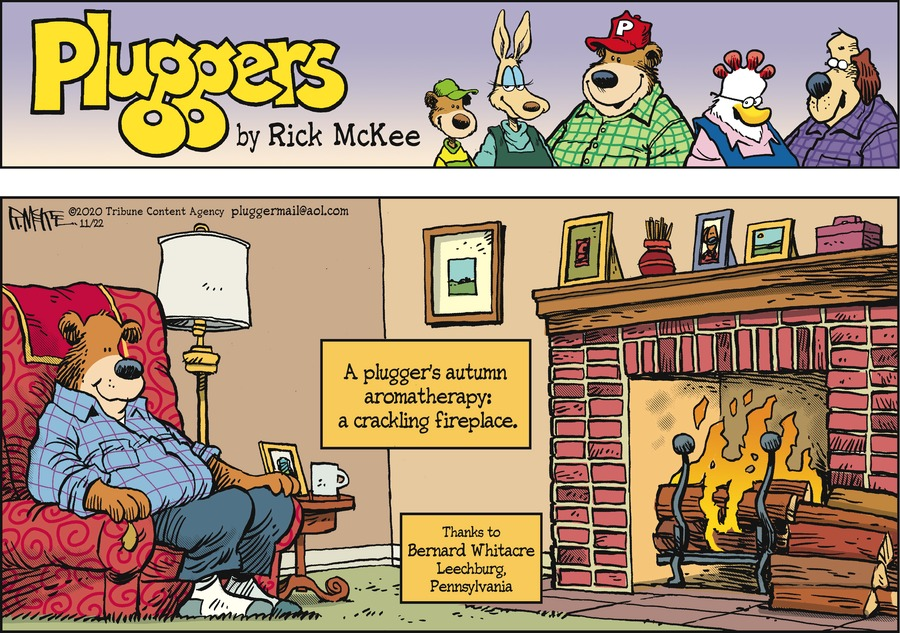 Pluggers Comic Strip for November 22, 2020