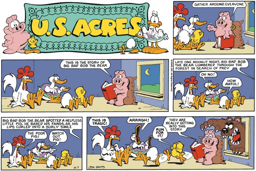 U.S. Acres for Dec 10, 2017 Comic Strip