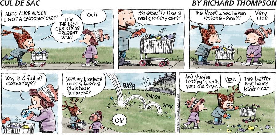 Cul de Sac for Dec 26, 2010 Comic Strip