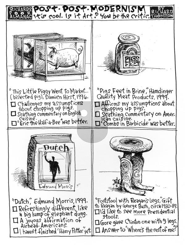 Richard's Poor Almanac on Sunday August 23, 2015 Comic Strip