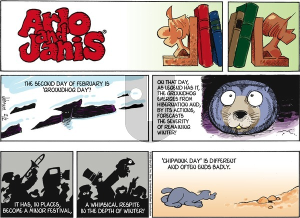 Arlo and Janis on Sunday February 2, 2020 Comic Strip
