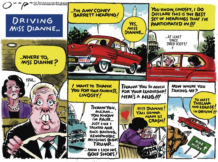 Jack Ohman Comic Strip for October 18, 2020