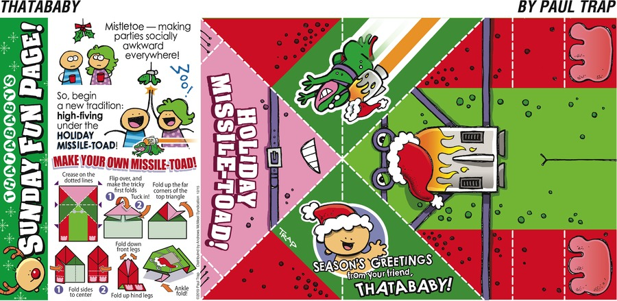 Thatababy Comic Strip for December 15, 2019