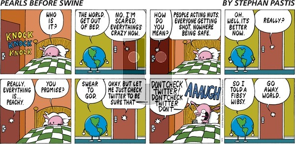 Pearls Before Swine on Sunday May 12, 2019 Comic Strip