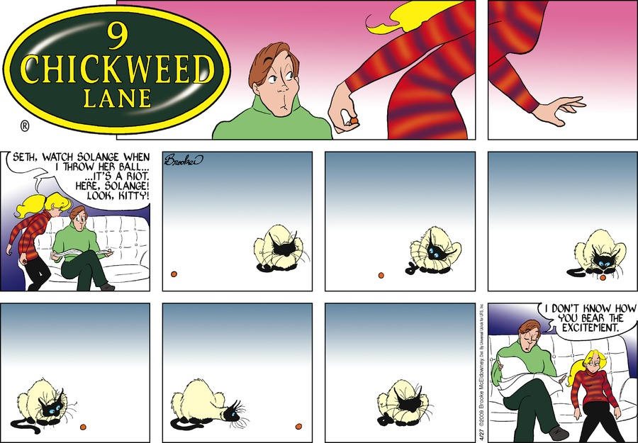 9 Chickweed Lane for Apr 27, 2014 Comic Strip