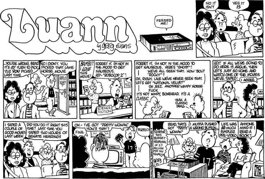 Luann Againn Comic Strip for August 25, 2019